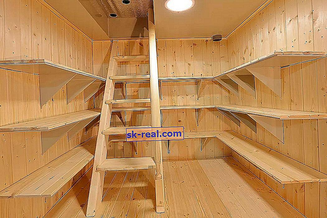 Kako pravilno izgraditi stubište do podruma?