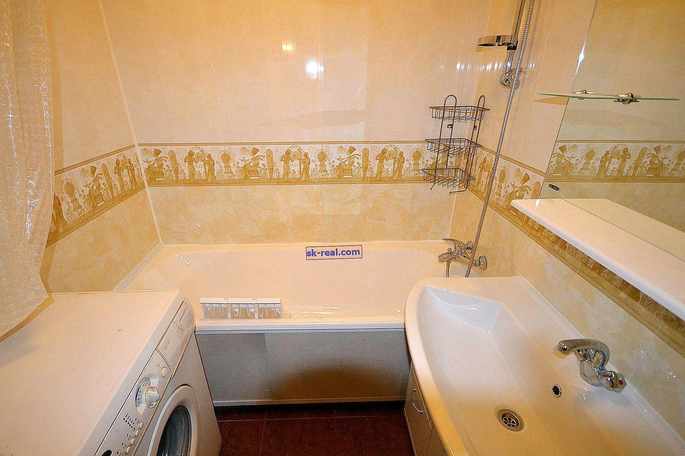 Как правилно да лепим PVC панели в банята?