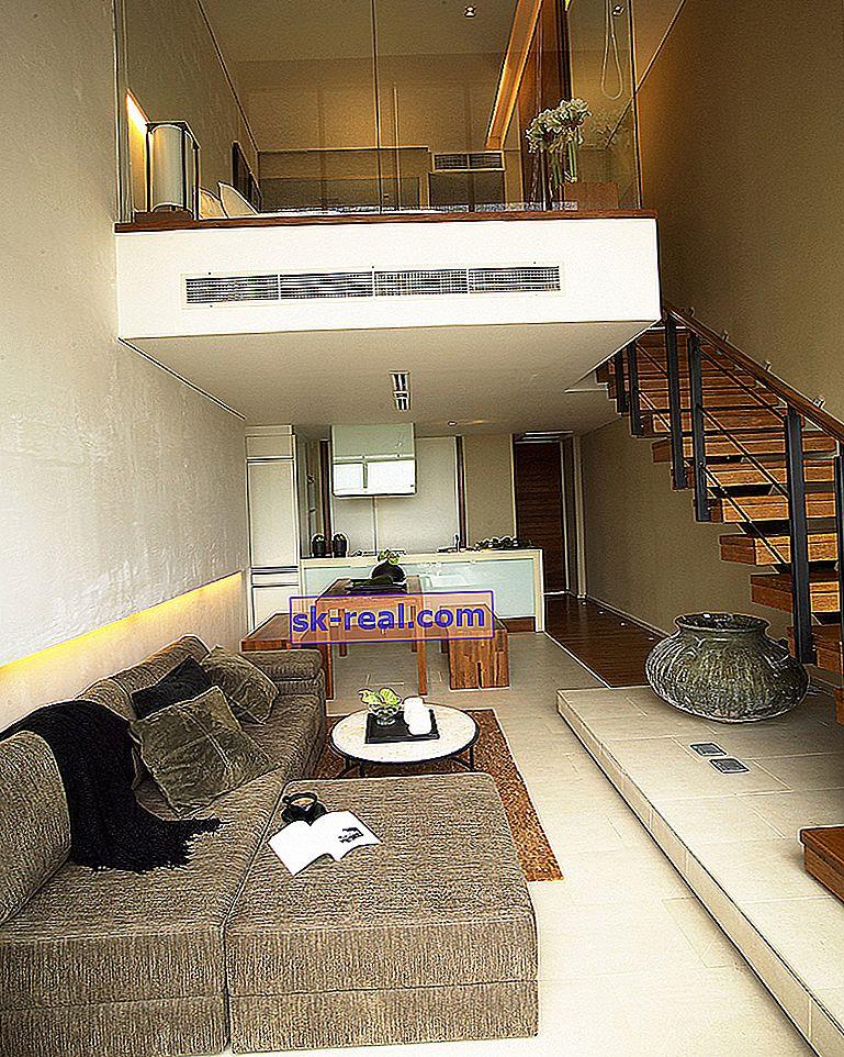 Projekt dwupoziomowego mieszkania: ciekawe opcje