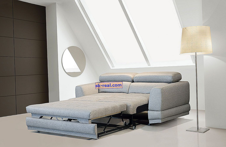 Sofa składana do przodu