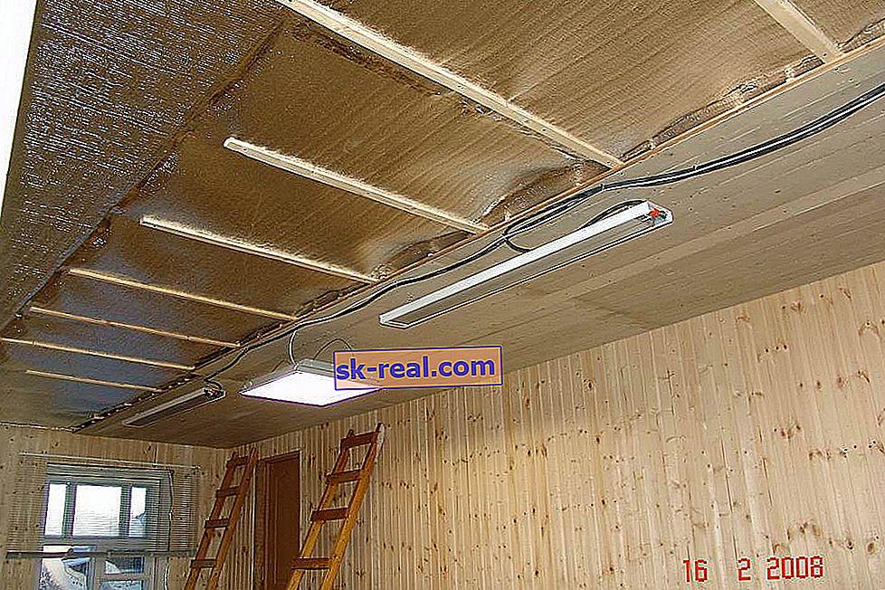 Как да изолираме тавана в частна къща отвътре?
