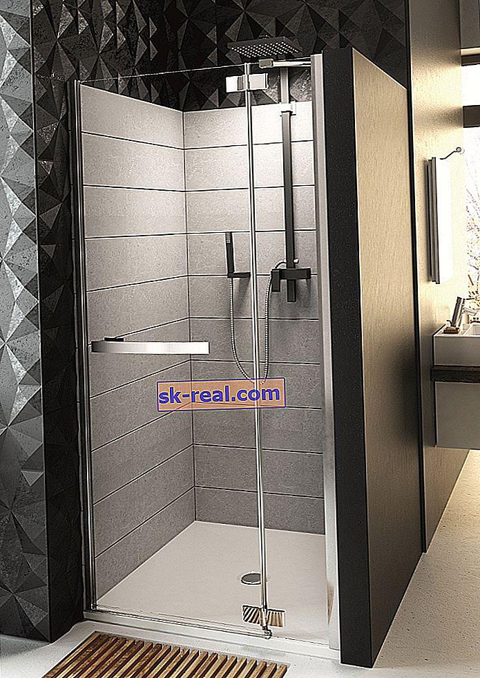 Вбудована душова кабіна: плюси і мінуси