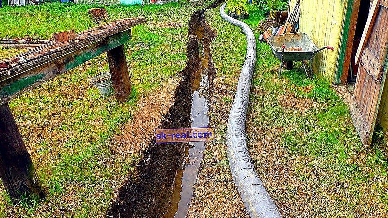 Odvodni jarak: prednosti i nedostaci otvorenog sustava odvodnje