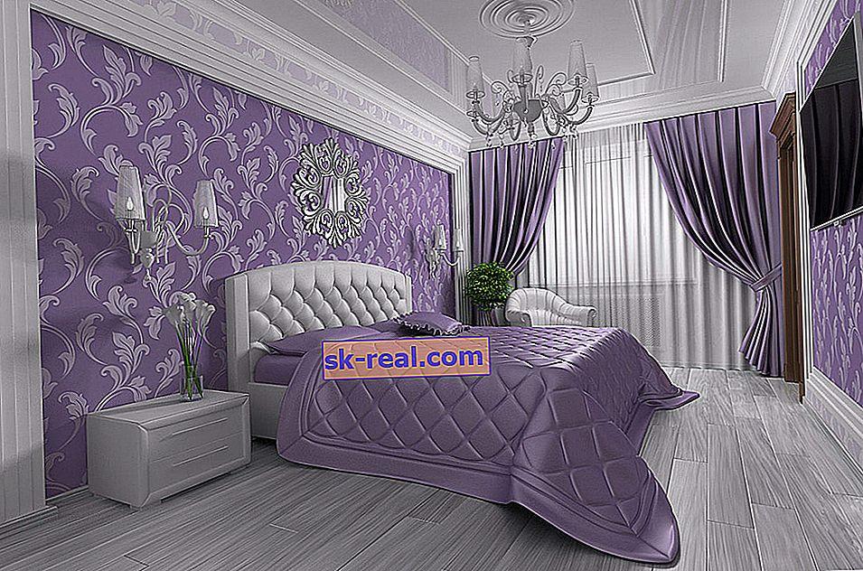 Odabir kompleta zavjesa i pokrivača za spavaću sobu