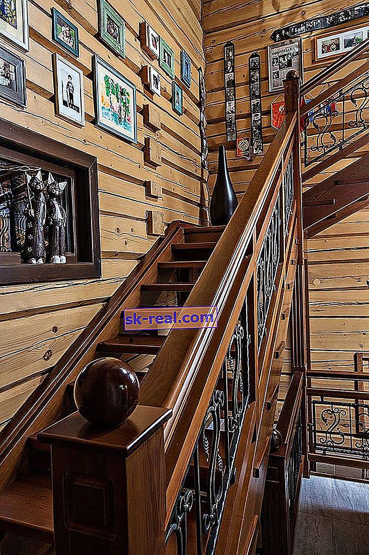 Kakve stepenice mogu biti za drugi kat u drvenoj kući: mogućnosti dizajna i gradnje