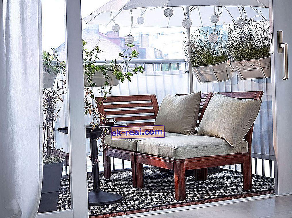 Вибираємо меблі на балкон