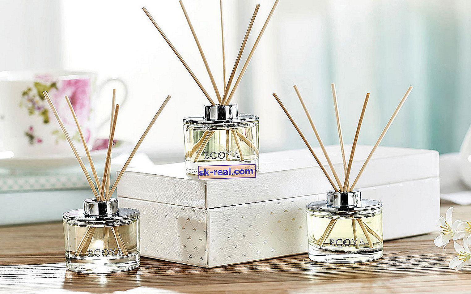 Domaći mirisi s štapićima: sorte, princip rada i pravila upotrebe