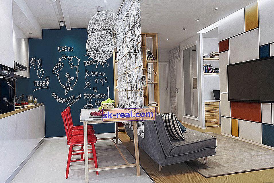 Zagospodarowanie przestrzenne apartamentu typu studio