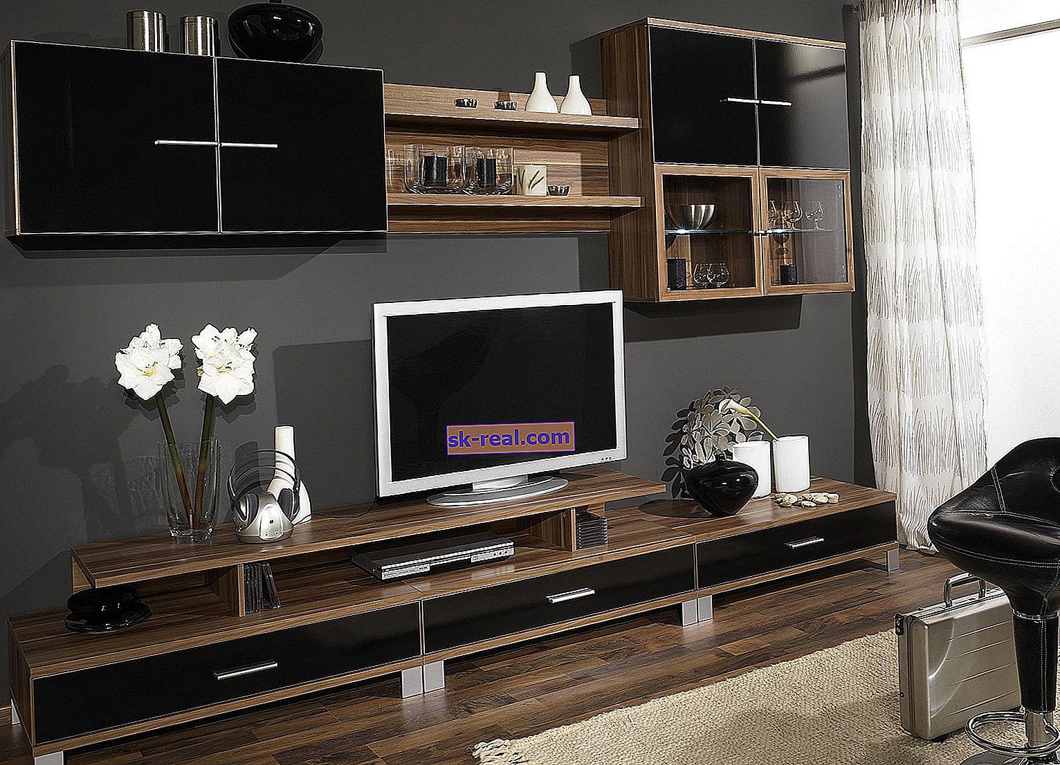 Ściany pod telewizor