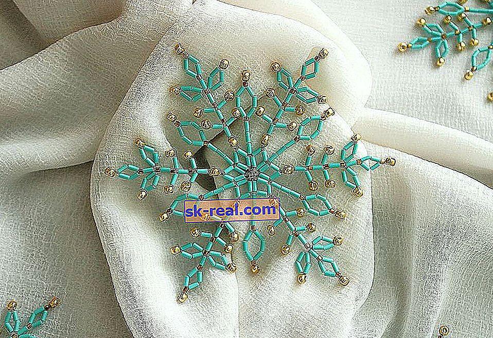 Uradi sam božićne ukrase od perli