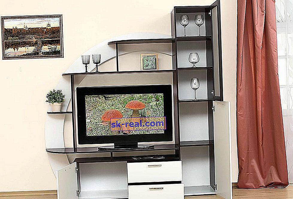 Mini ściany TV