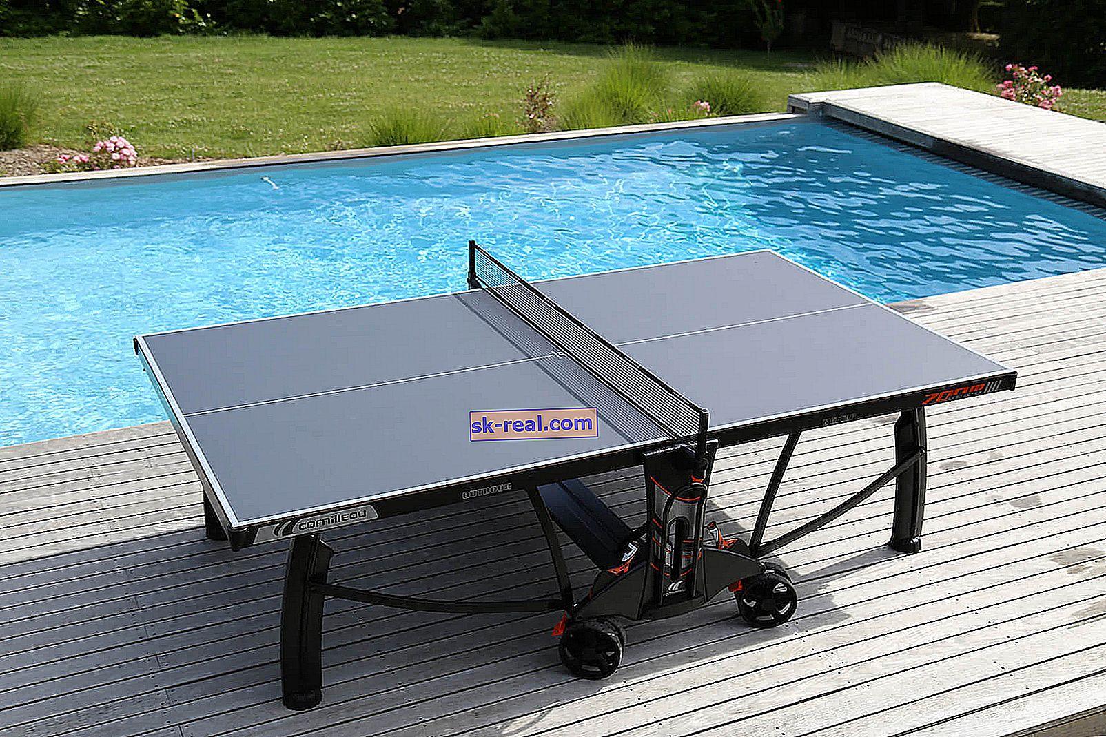 Kako napraviti samostalni teniski stol za samostalno korištenje?