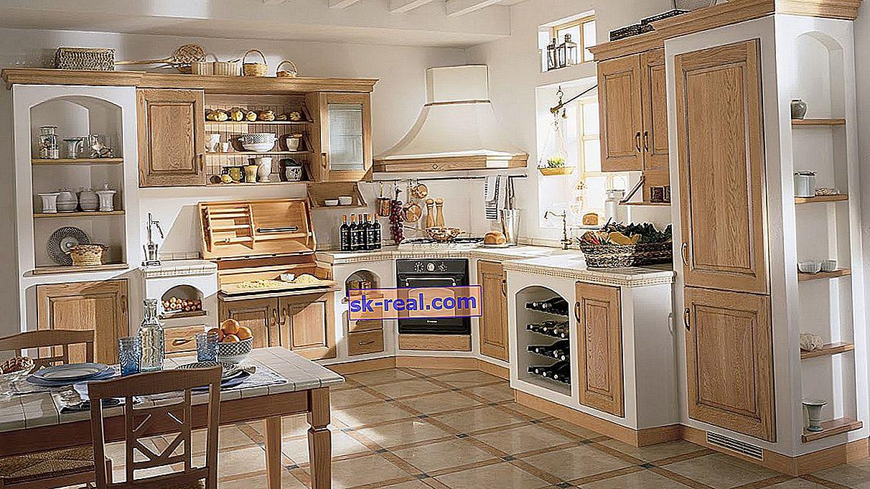 Dvobarvne kuhinje: izbor in primeri v notranjosti