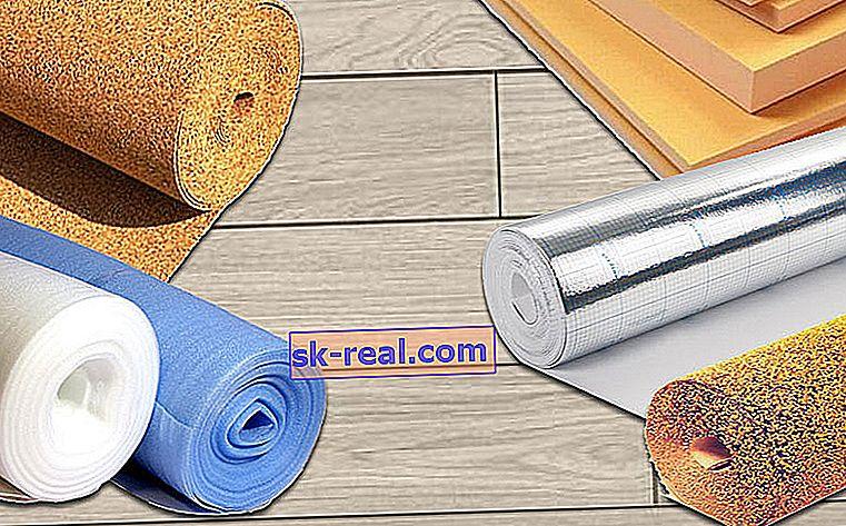 Metody układania podłoża pod laminat