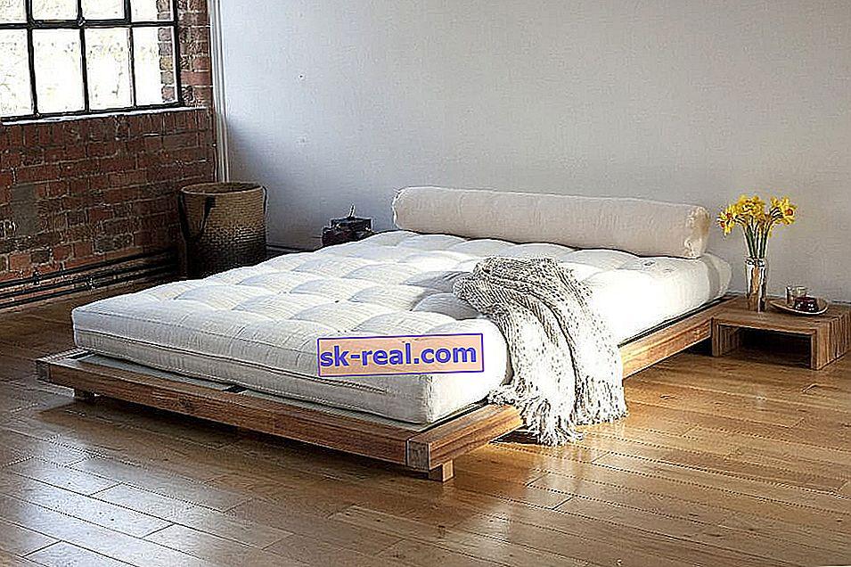 Ліжка в японському стилі