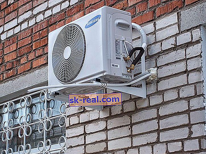 Klimatyzator zewnętrzny: wymiary i wskazówki dotyczące instalacji