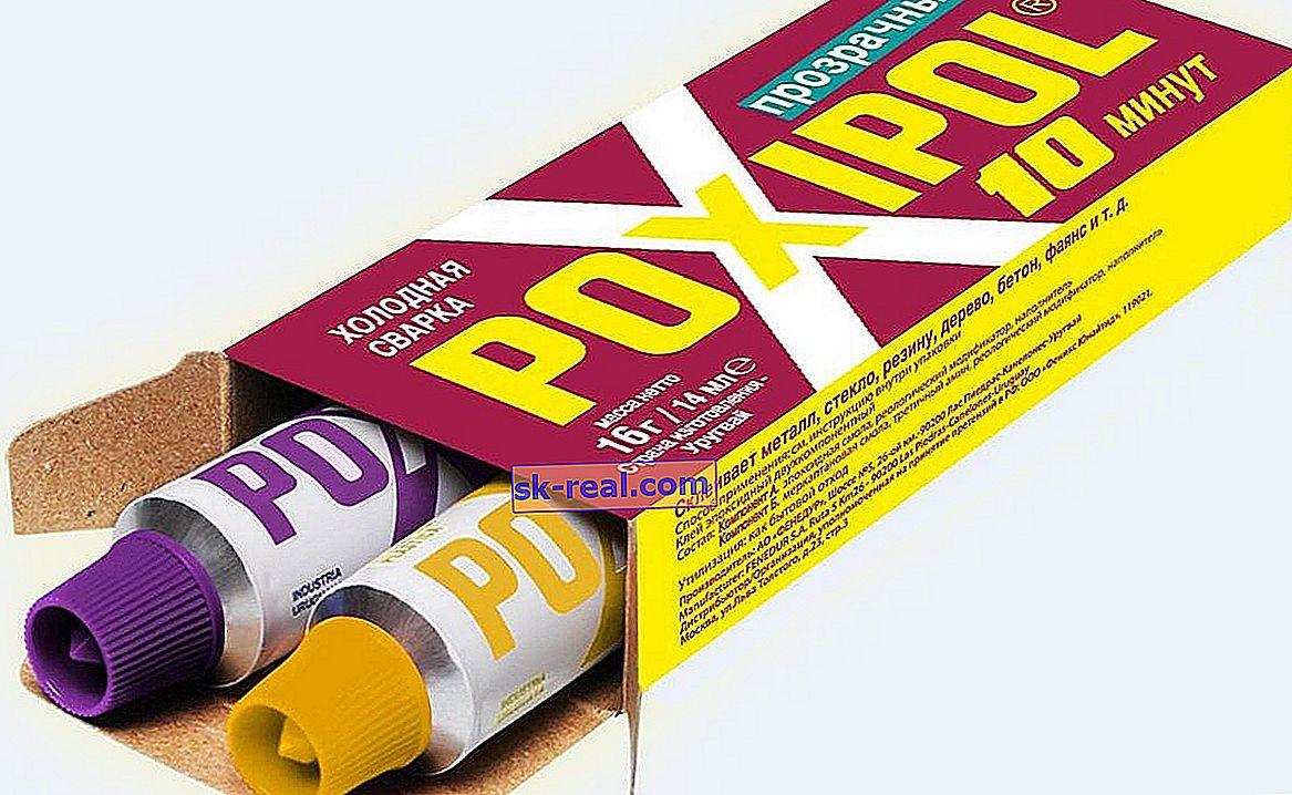 Холодне зварювання Poxipol: плюси і мінуси