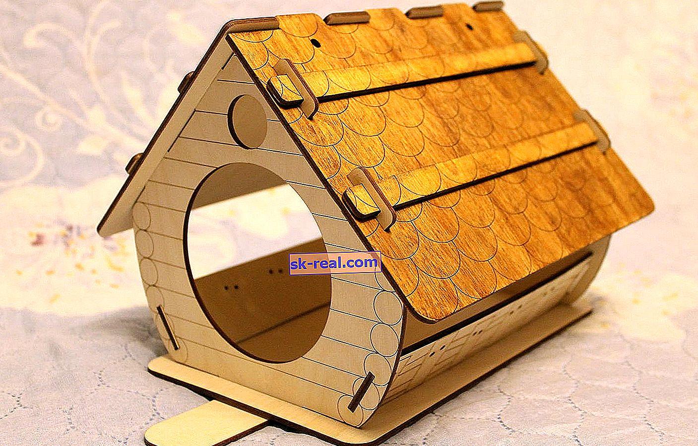 Kako napraviti kućicu za šperploče?