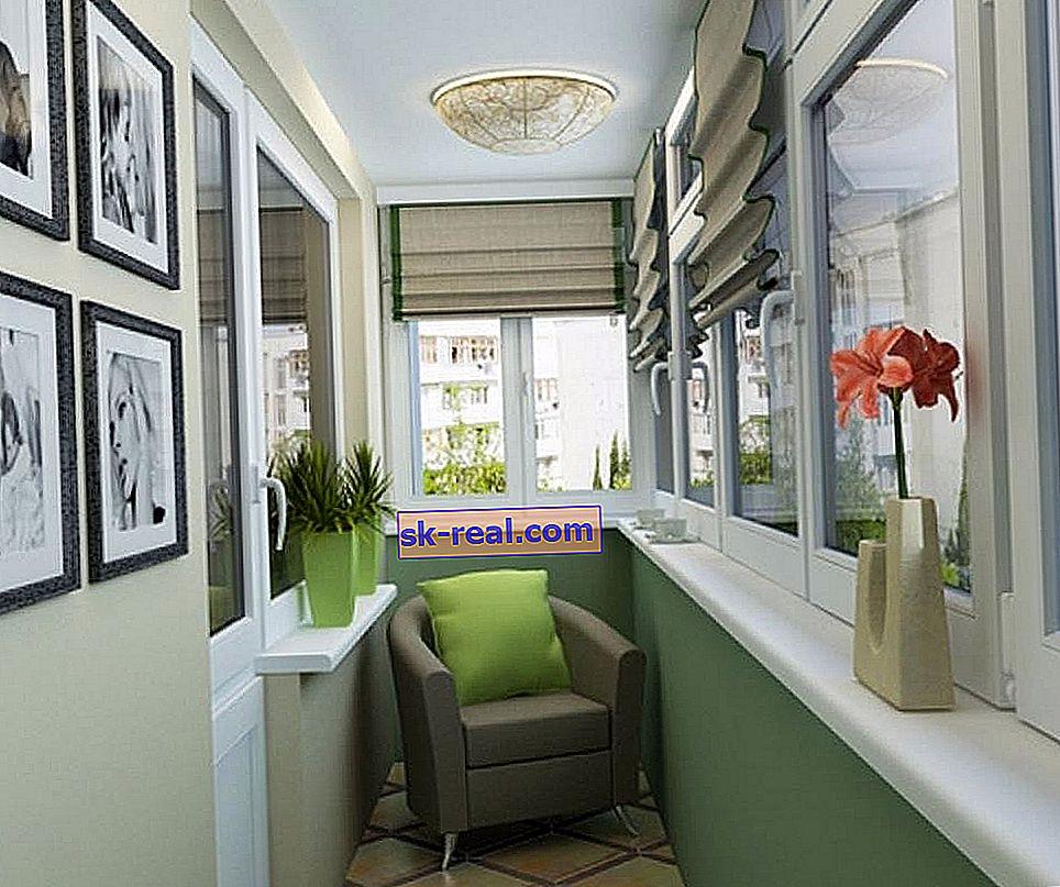 Kako izraditi i instalirati prozorsku dasku na balkonu?