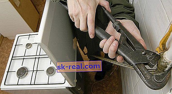 Kako sami izklopiti plinski štedilnik?