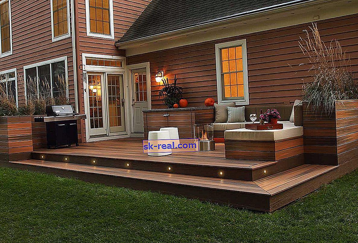 Kako napraviti trijem za drvenu kuću?